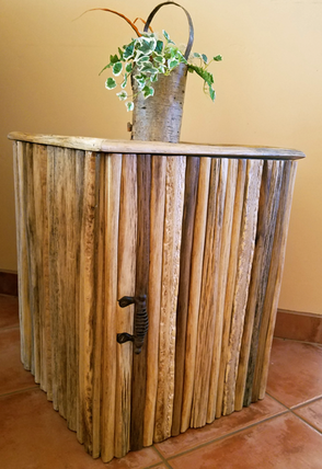 Bon Saguaro Cactus End Table With Storage